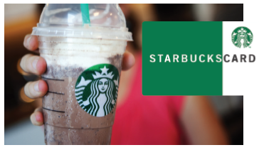 Receive a Starbucks Gift Card